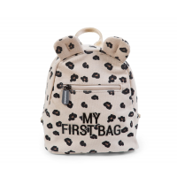 childhome_detsk_batoh_my_first_bag_canvas_leopard2